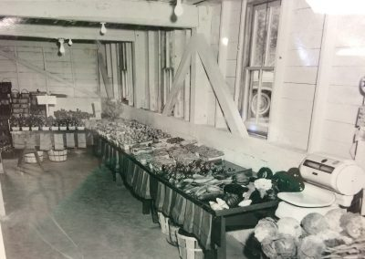 The original market setup  in the late 50's